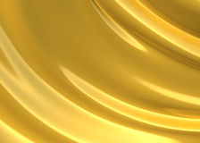 Abstract golden cloth 3d background Royalty Free Stock Photo