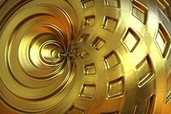 Abstract golden color background. Stock Photo