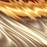 Abstract golden composition Royalty Free Stock Image