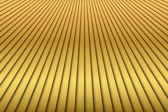 Abstract golden diagonal stripes background. Modern gold lines pattern stock illustration