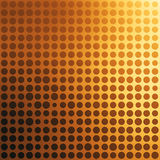 Abstract golden dotted background Stock Images