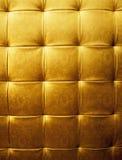 Abstract golden fabric texture Royalty Free Stock Photos