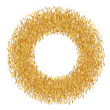 Abstract golden frame Stock Photography