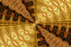 Abstract Golden Fur  Stock Images