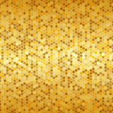 Abstract golden geometric background Royalty Free Stock Image