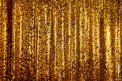 Abstract golden glitter background Royalty Free Stock Image