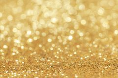 Abstract golden glitter background royalty free stock images