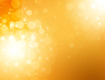 Abstract  golden graphics background Stock Photo
