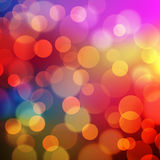 Abstract Golden Holiday Background bokeh effect Royalty Free Stock Image