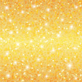 Abstract golden holiday background. For your design Stock Image