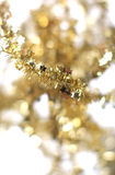 Abstract golden holiday decoration Royalty Free Stock Images