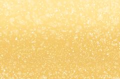 Abstract golden holidays lights Stock Images
