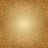 Abstract Golden Light Bokeh Background Vector Illustration. Magic Gold Defocused Glitter Sparkles. Good for promotion materials, Brochures, Banners. Abstract Stock Photos