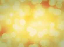 Abstract golden lights Royalty Free Stock Photo