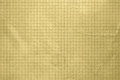 Gold background - grunge design - checked pattern Royalty Free Stock Photography