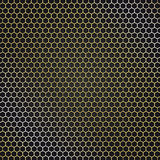 Abstract golden metal background. For your design Stock Photography