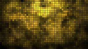 Abstract golden mosaic Stock Image