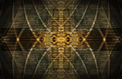 Abstract golden pattern Royalty Free Stock Images