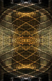 Abstract golden pattern Stock Images