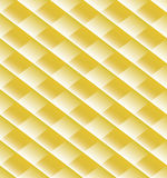 Abstract golden pattern with hazy diamonds Stock Images