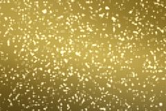 Abstract golden reflectors dot glitter and sparkles seamless loo Stock Photo