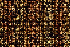 Abstract golden reflectors and sparkles with glitter light parti. Cles effect seamless loop Royalty Free Stock Image