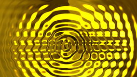 Abstract golden ripples motion background Royalty Free Stock Photography