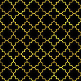 Abstract golden scaled seamless vector pattern Royalty Free Stock Photo