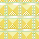 Abstract golden seamless pattern Royalty Free Stock Photography