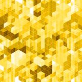 Abstract golden seamless pattern. Royalty Free Stock Photography