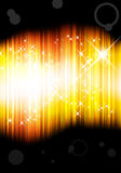 Abstract golden shiny background Royalty Free Stock Photos
