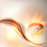 Abstract golden swirl background Stock Photos