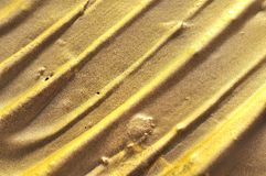 Abstract golden texture Stock Photography