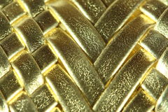 Abstract golden texture Royalty Free Stock Images