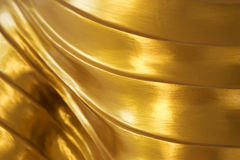 Abstract golden texture design background Royalty Free Stock Image