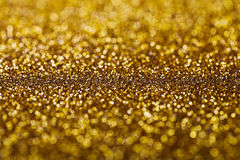 Abstract Golden Twinkled Background Stock Photos
