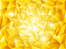 Abstract golden vector background  Stock Image