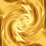 Abstract golden wave Stock Images