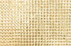Abstract  golden white mosaic background Royalty Free Stock Image