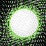 Abstract golf background. Abstract grunge golf background. Vector illustration Royalty Free Stock Photo
