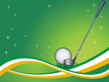 Abstract Golf Background Stock Images