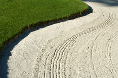 Abstract of Golf Bunker Stock Photos