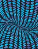 Abstract golvend blauw ontwerp als achtergrond Stock Afbeelding