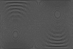 Abstract golvend lijnenontwerp Stock Illustratie