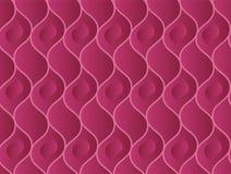 Abstract golvend wijn elegant naadloos patroon Royalty-vrije Stock Afbeelding