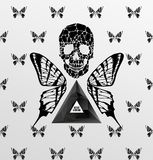 Abstract gothic vector illustration
