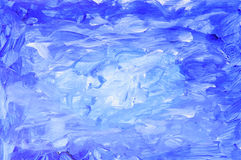 Abstract gouache paint Stock Image