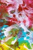 Abstract Gouache Swirl Stock Photos