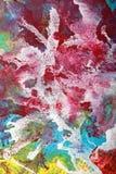 Abstract Gouache Swirl Stock Image