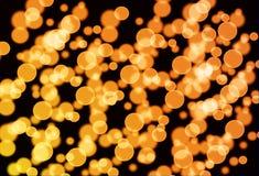 Abstract goud bokeh vector illustratie